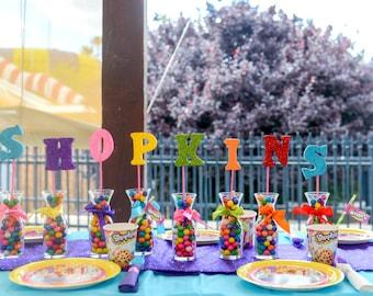 Photo Props, Party Decorations, Centerpiece, Foam Letters, Glitter Letters,