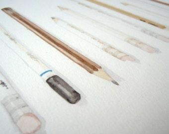 Pencils print