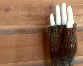 Ready to Ship! Knit Fingerless Gloves