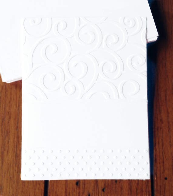 image 0 - Embossed Note Cards