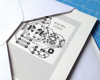 Dunlop Cry Baby guitar wah pedal grey and black art silkscreen circuit portrait retro effects print