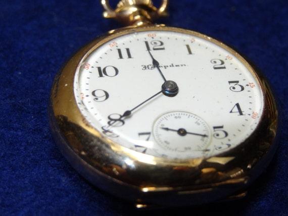 1903 Pretty Ladies Hampden Diadem 3/0 Pocket Watch