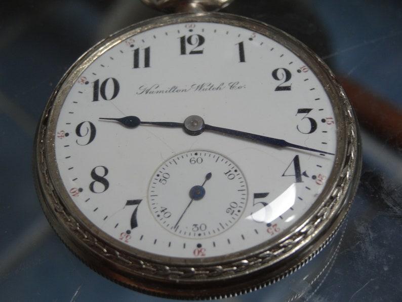 ada060bd3cf3e Hamilton 16 Size Pocket Watch 17 Jewels 972 Model Just Serviced
