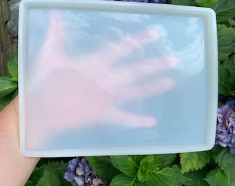 "Large, medium rectangle mold for diy crafts, 1/4"" deep, please read Item details,"
