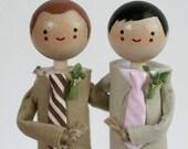 Handmade Keepsake Wedding Topper - CUSTOM ORDER