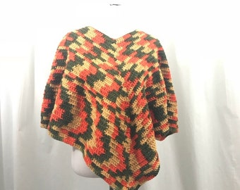Poncho Sweater Etsy