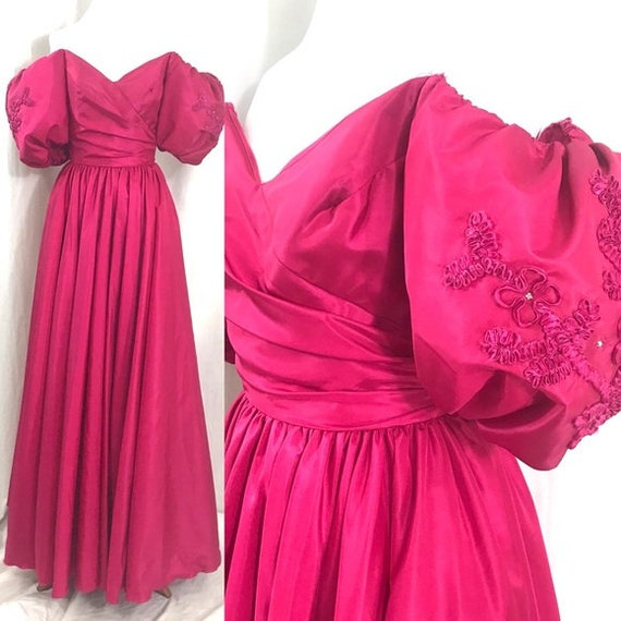 NWT Vintage 80s Formal Historical Victorian  Forma