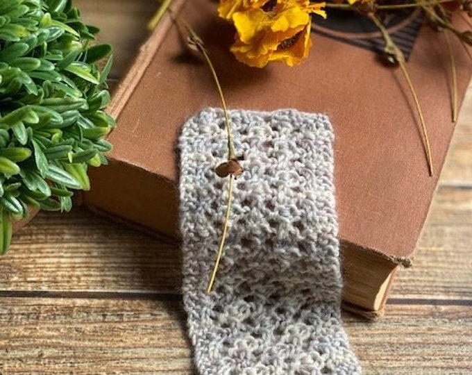 Featured listing image: KNITTING PATTERN - Vintage Inspired Lace Bookmark, Vintage Knitting Pattern, Lace Bookmark Knitting Pattern, Easy Lace Knitting Pattern