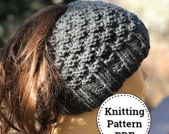 Ponytail hat pattern  72f6d5472e7