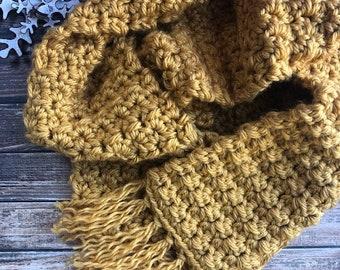 CROCHET PATTERN - Touch of Frost Scarf, Knit Scarf Pattern, Cowl Pattern, Knitted Scarf Pattern, Scarf Pattern