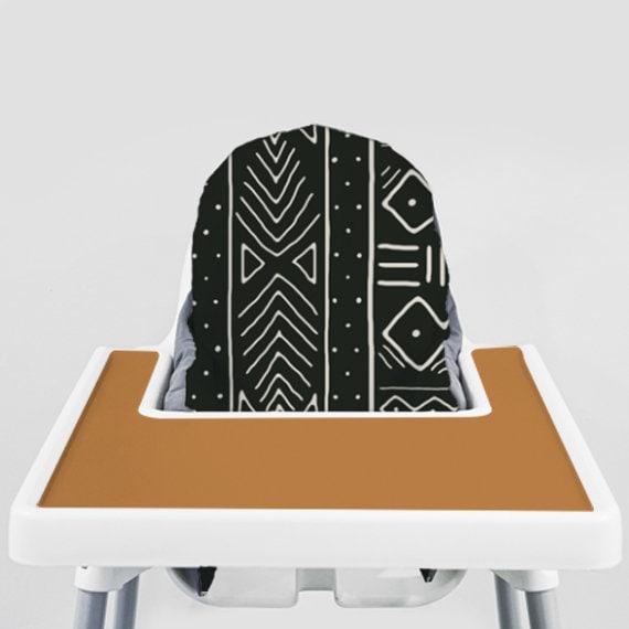 Astounding Black Mudcloth Ikea Antilop Highchair Cover High Chair Cover For The Klammig Or Pyttig Cushion Pillow Slipcover Short Links Chair Design For Home Short Linksinfo