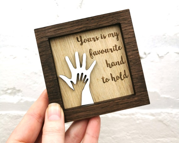 Personalised Child and parent, wall art, child hands, Mothers Day Gift, Fathers Day Gift, Gift for Mum, Hands, mini frame, Grandparent