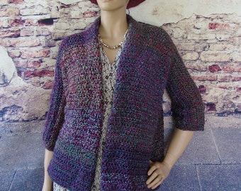 4f8f3a5c83 Purple cardigan