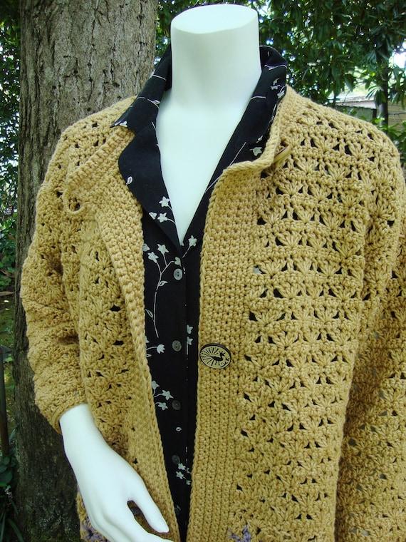 Häkeln Sie Strickjacke Pullover Mantel häkeln Jacke Cardigan | Etsy
