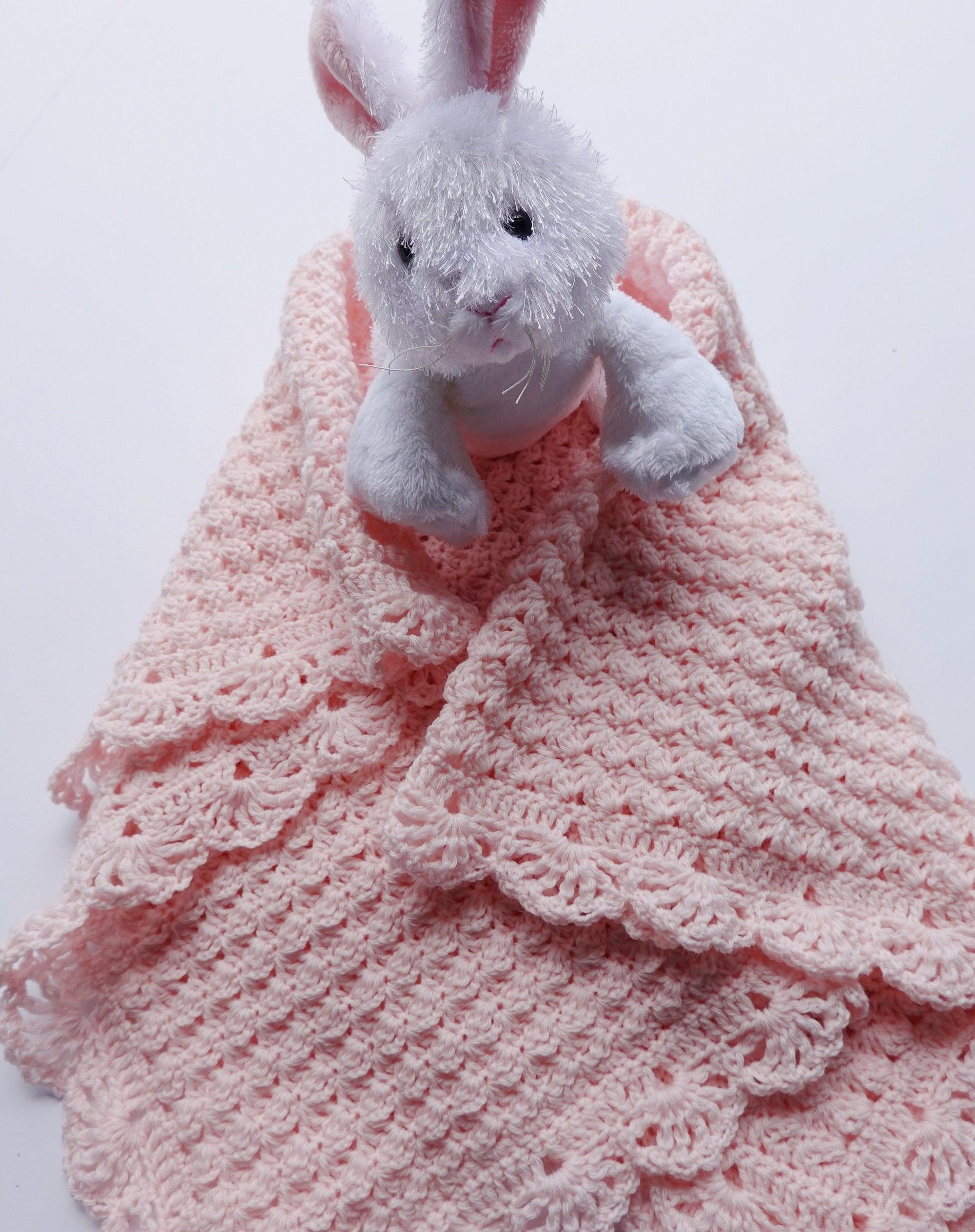 Crochet Baby Blanket, Blanket Merino Wool, Pink Baby Blanket, Merino Wool Baby Blanket, Newborn Baby Blanket, Baby Gift, Christening Gift