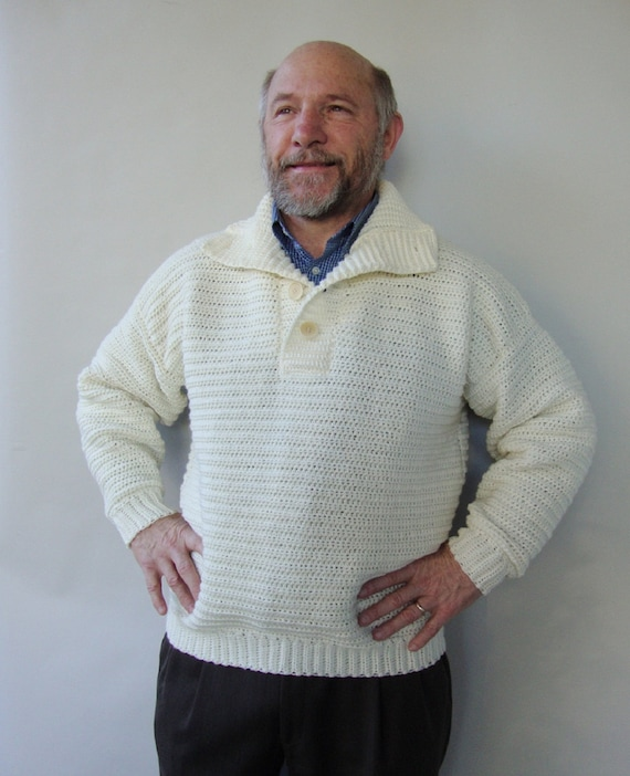 Mens Sweater Etsy
