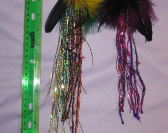 hair feather clippies 4