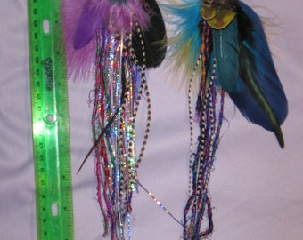 hair feather clippies 3