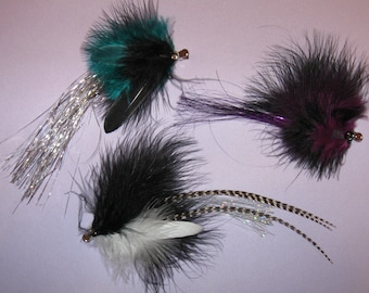 hair feather clippies 10