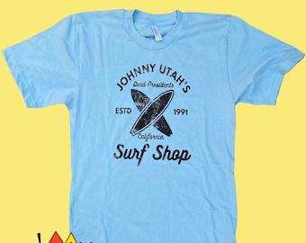 Johnny Utah Shirt, Point Break Shirt, Patrick Swayze shirt, Surfing, gifts for men, boyfriend gift, unique gift, surfing, gift for him
