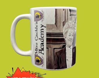 Worst Witch Mug, Miss Cackle's Academy For Young Witches, funny mugs, tea lover, Wizard, gift for gf, coffee drinker, coffee cup, Tea cup