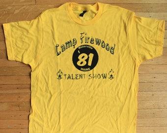 db25e3606e71 Camp Firewood Wet Hot American Summer Shirt