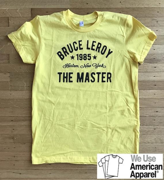 The Last Dragon Bruce Leroy Harlem Womens T-shirt S M L XL  3b3a6a2a043