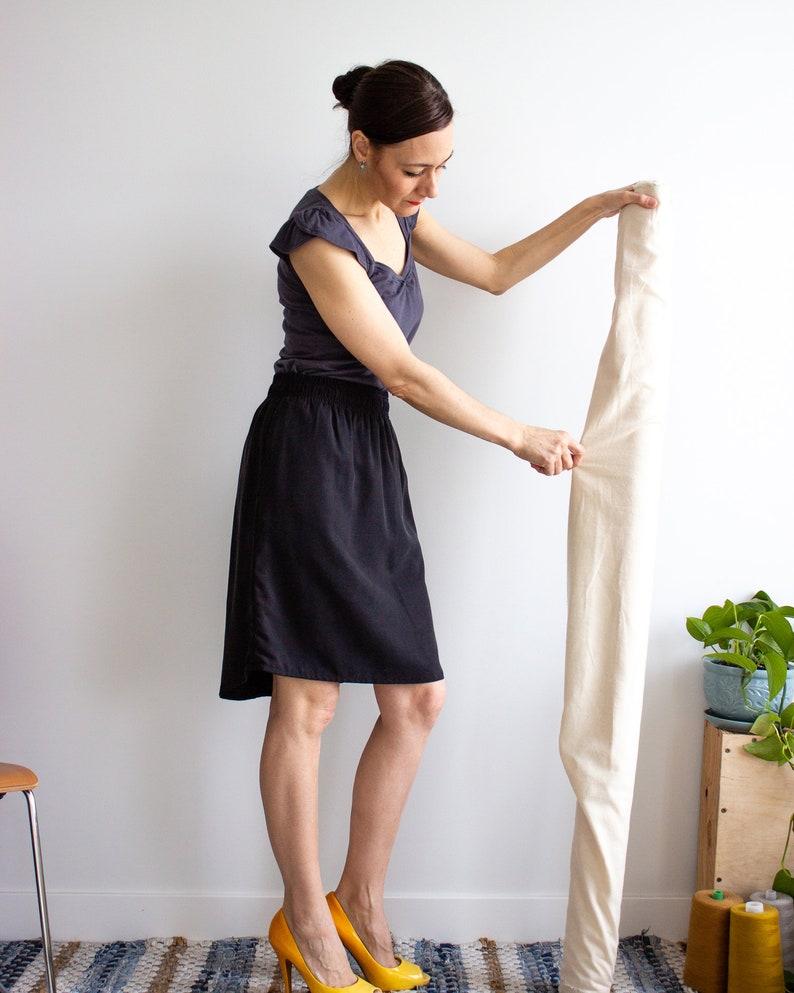 1e83ed51f2 JoPa Tencel skirt Black capsule wardrobe skirt High waist | Etsy