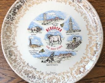 Air Force Academy Colorado landmarks Colorado collectible Mesa Verde Vintage Colorado souvenir state plate USA travel souvenir