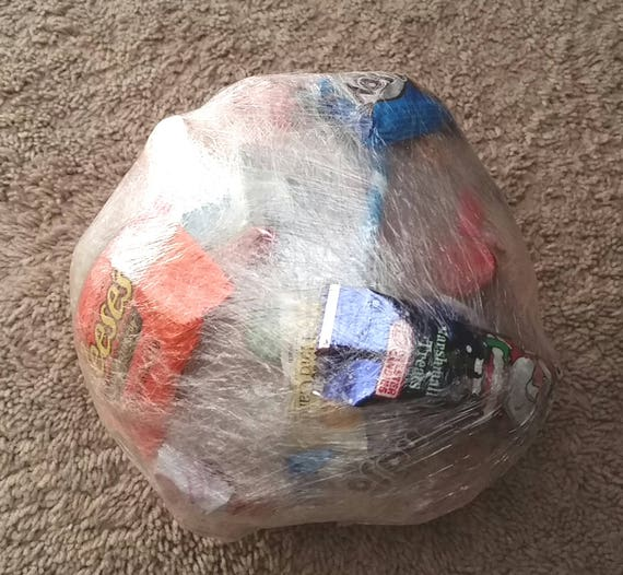 Saran Wrap Candy Ball Surprise Ball Party Game