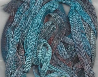 Monet Organic Cotton Ribbon Floss Painters Threads Tentakulum Embellishment