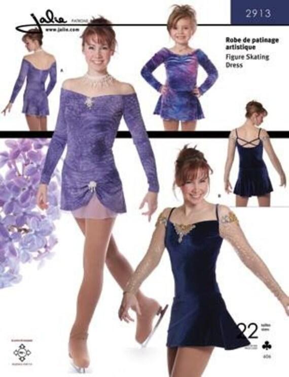 Jalie aus der Schulter-Eiskunstlauf Kleid Kostüm Schnittmuster | Etsy
