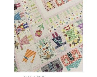 Girl Next Door House Jen Kingwell Designs Quilt Pattern Scrappy Louise Papas