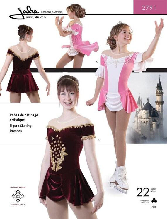 Jalie Prinzessin Abbildung Eislauf tanzen Kleider Kleid Kostüm