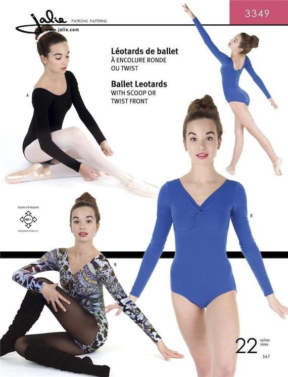 Jalie Ballett Trikot Tanz Gymnastik Kostüm Schnittmuster 3349