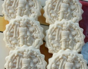 201 Trumpeter Mold - Cookie Mold - Springerle Mold - Marzipan Mold - Ornament Mold - Butter Mints Mold - Buttermints Mold - Confections Mold