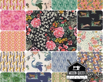 Sale!   Eve    Bari J.   Art Gallery Fabrics   Fat Eighth Bundle - 16 PrintsSale On Sale