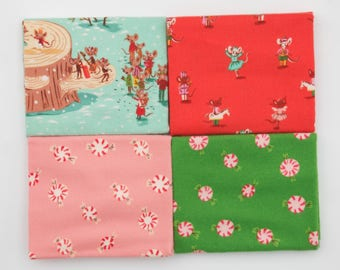 Sugar Plum FLANNEL - Fat Quarter Bundle by Heather Ross - Full Collection