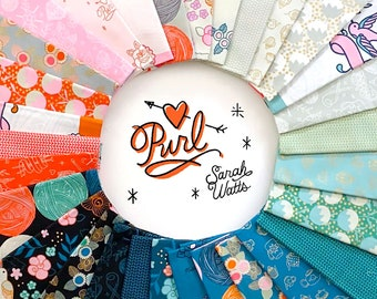 Sale! Purl by Sarah Watts for Ruby Star Society Fat Eighth  Bundle (27 Pieces - Panels Not Included)