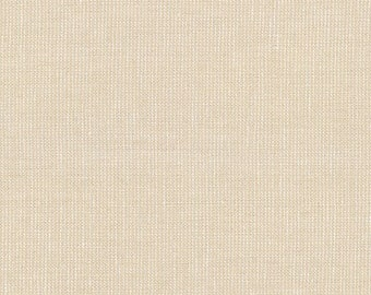 Metallic Canvas Yarn Dyed Linen in Sand E120-1323 by Robert Kaufman - Priced/Sold by the Half Yard