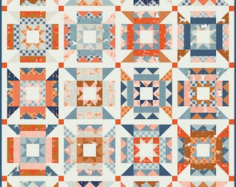 """Preorder: Meander Kit by Aneela Hoey for Moda 54"""" x 68"""" (Pattern by Then Came June)"""