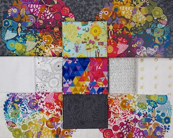 Alison Glass {Remix} - Fat Quarter Bundle - by Alison Glass (9 pieces)