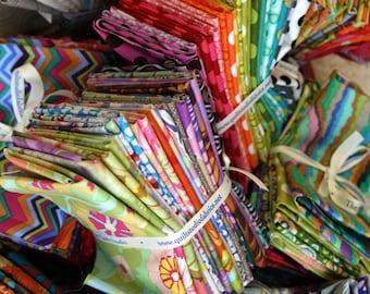 Modern Scrap Fabric Bundle-20 Random Fat Eighths