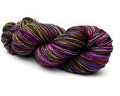 Hand dyed sock yarn - Sil...