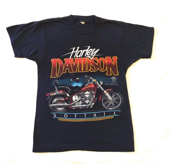Vintage Harley Davidson Softail T-shirt