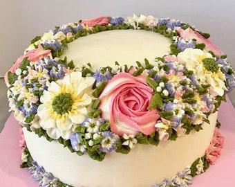 Wreath Cake 6''