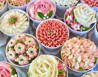 Flower Pot Cupcakes 12 pieces