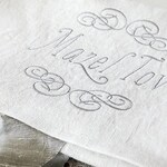 Heirloom Embroidered Mazel Tov Smash Pouch