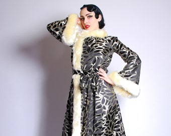 f964b6d7f5 Silver Screen Queen Dressing Gown -House of Envy