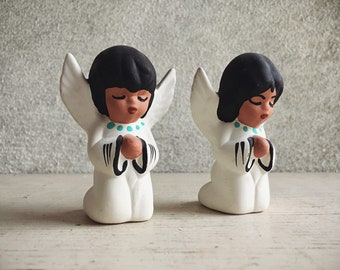 Southwestern Pottery Angel Figurines, Native American Indian Art, Angel Gifts for Aunt Mom Grandmother